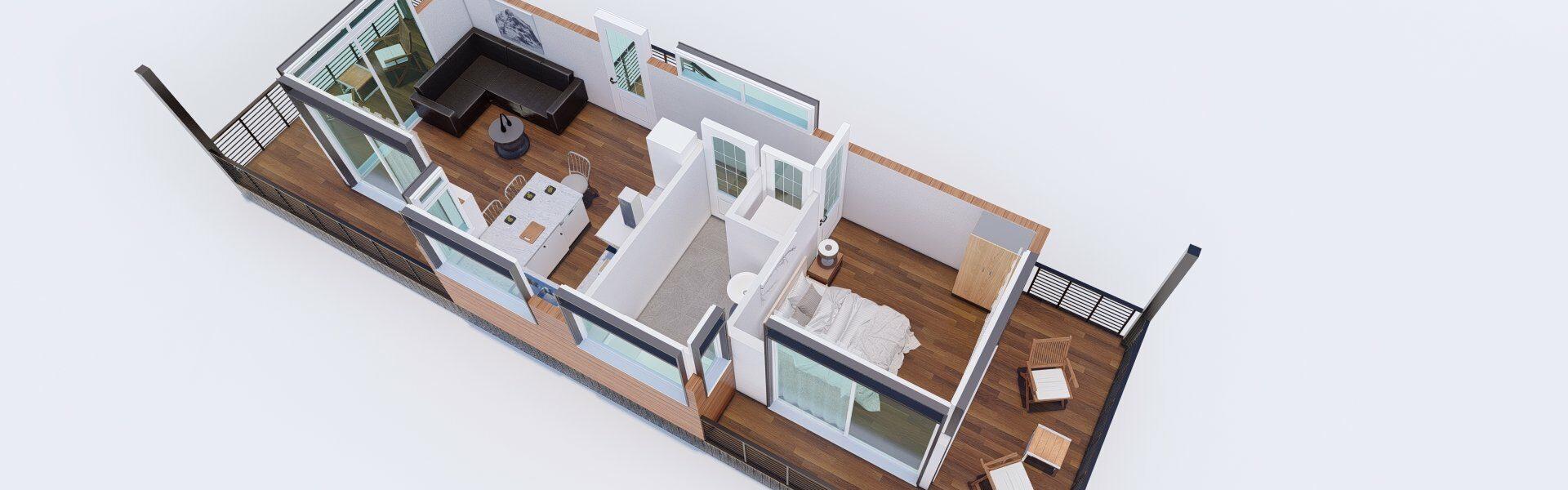 3D Floor plan_5 - Photo