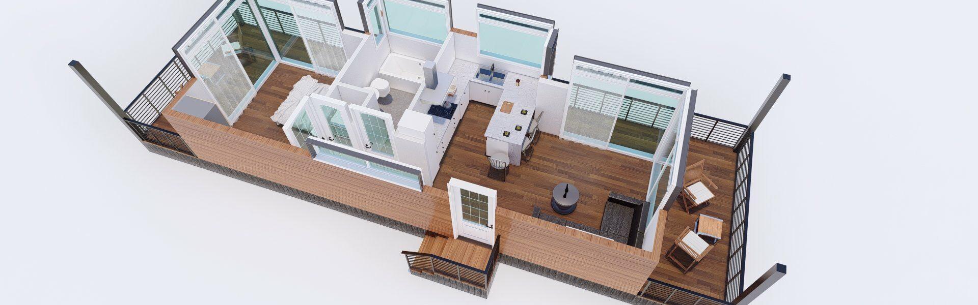 3D Floor plan_6 - Photo